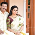 Actress Sheelu Abraham With Her family - PHOTOS