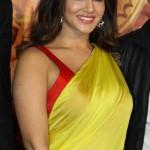 Actress Sunny Leone Saree Photos @ Ek Paheli Leela Trailer Launch