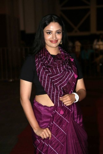 Malavika Nair at Vijetha Movie Audio Launch