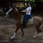 Tamannaah Bhatia Horse Riding