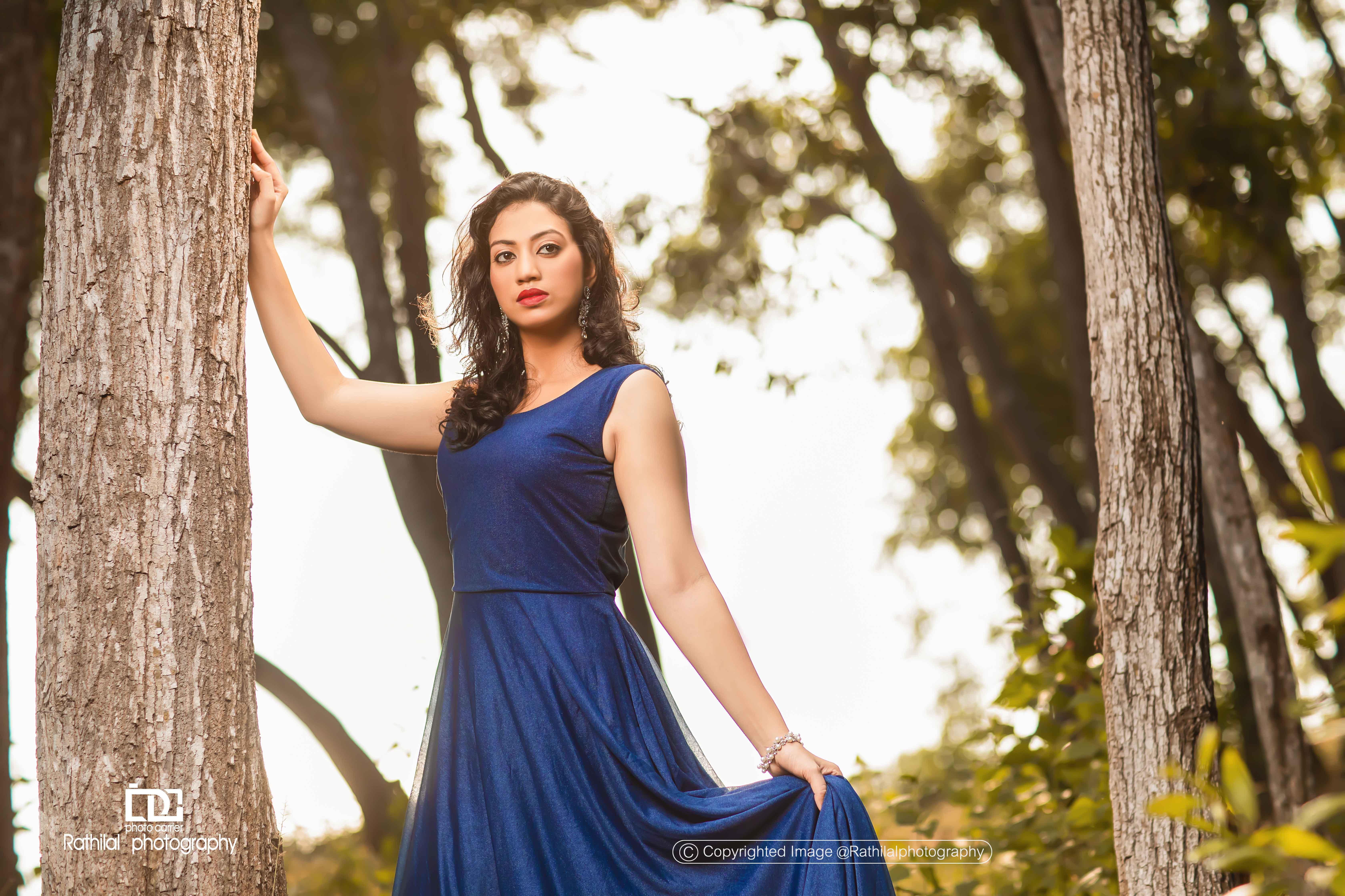 Irene jose Portfolio Photoshoot By Rathilalphotography