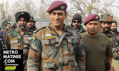 MS Dhoni in Army Uniform
