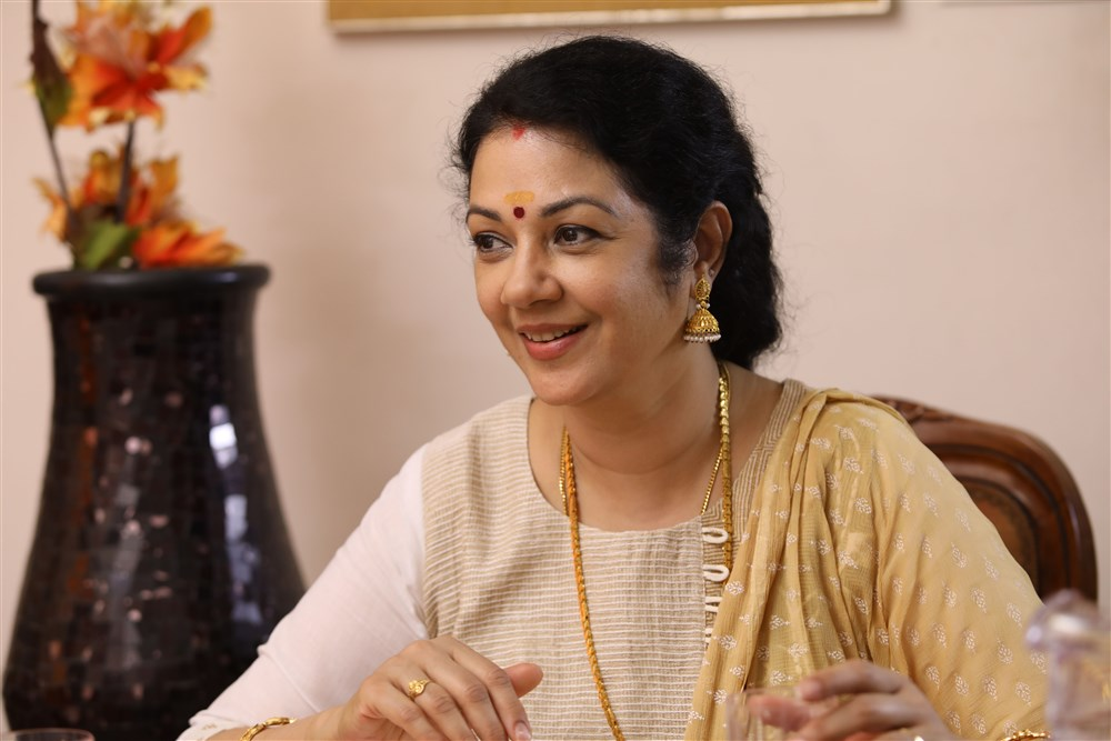 Actress Shanthi Krishna in Krishnam Movie Stills