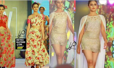 Priya Prakash Warrier Oru Adaar Love heroine Walks at Espanio Events Fashions Show