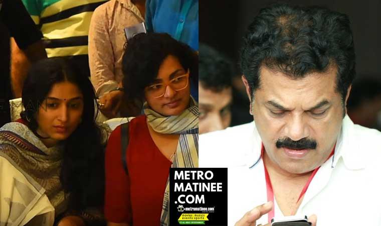 Padmapriya against Mukesh for Dileep issue